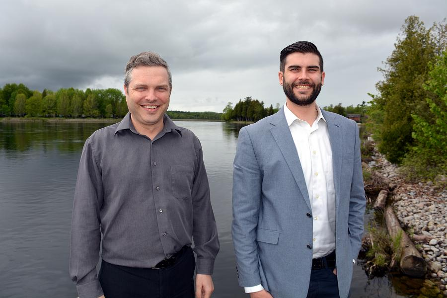 Stuart Scott and Jeff Blodgett of Darling Insurance will help you get the coverage you need this summer (Photo: Eva Fisher / kawarthaNOW.com)
