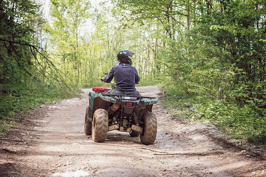 Many people assume that their ATV is covered by their home or cottage policy, but it needs to be insured on an auto policy.