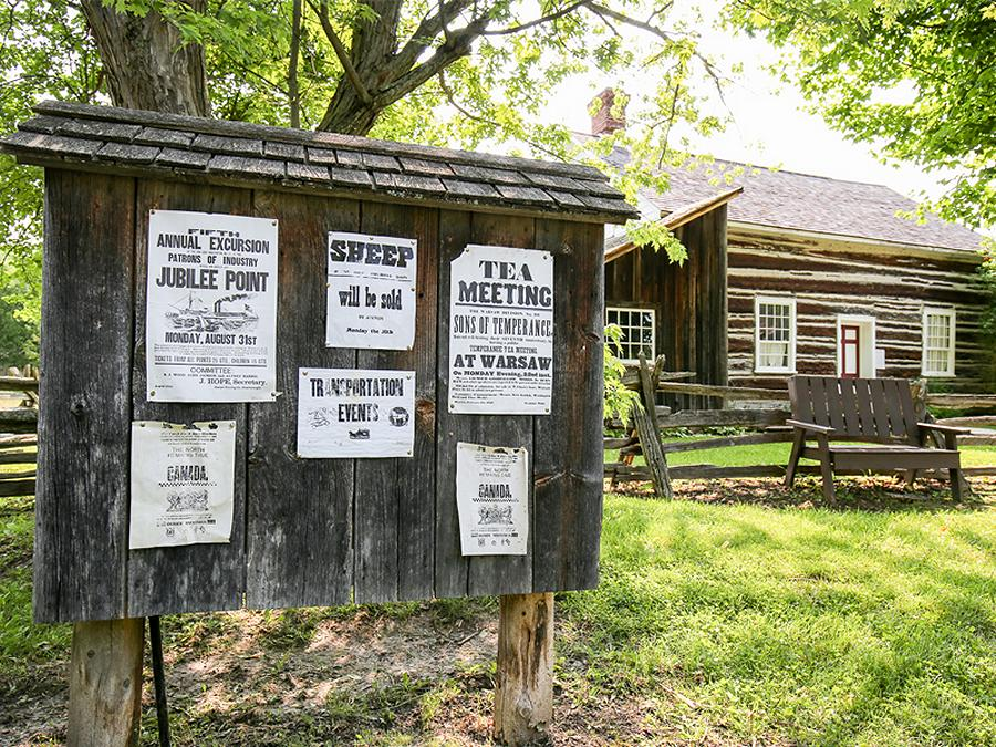 A stroll through Lang Pioneer Village offers the chance to get completely immersed in settlement-era history. (Photo: Lang Pioneer Village)