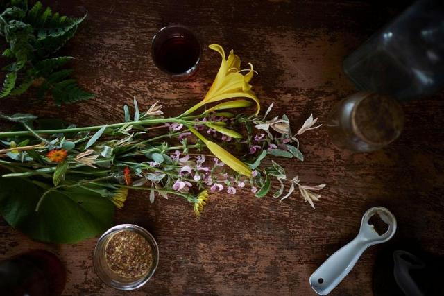 The Mount Julian menu at Viamede celebrates each season and often includes foraged ingredients. (Photo: Viamede Resort)
