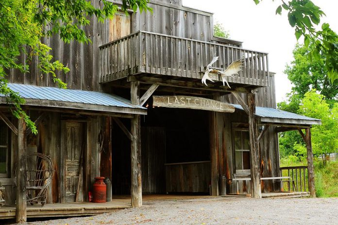 Escape Maze offers interactive real-life challenges with Old West themes on Cedarbank Farm in Peterborough. (Photo: Escape Maze)