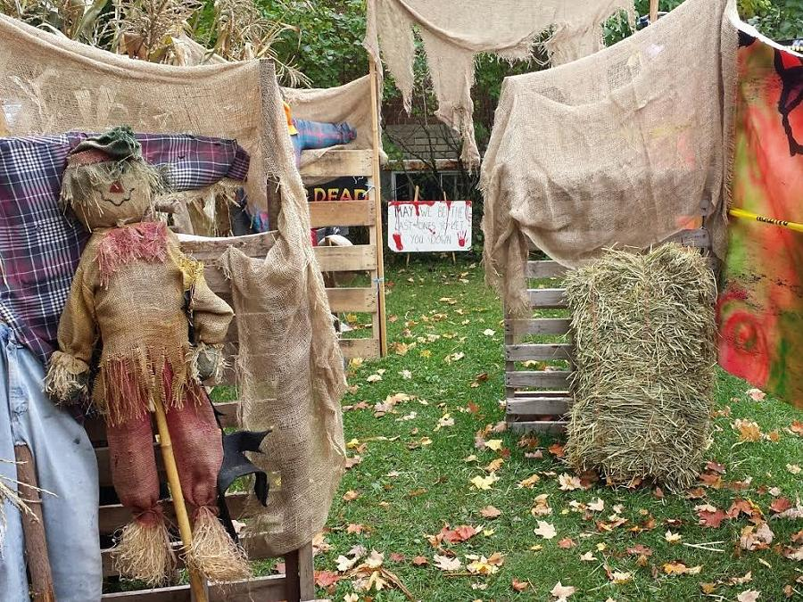 Halloween fun at Kawartha Settlers' Village involves a haunted house, crafts for kids and a maze. (Photo: Kawartha Settlers' Village)