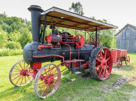 The Father's Day Smoke & Steam Show on Sunday, June 18 at Lang Pioneer Village in Keene is the largest show of its kind in the Kawarthas, featuring tractor and power equipment displays, games, a parade through the village, and more.