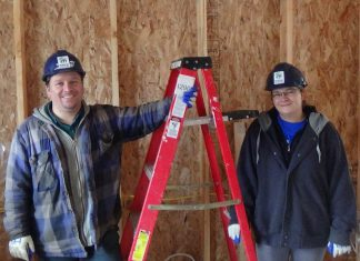 Joshua and Natasha (Bandi) Clark, a couple who were once homeless teens, are about to move into their Habitat for Humanity home in Warsaw. You can visit the home on Tuesday, June 27th and welcome Josh and Tasha into home ownership.