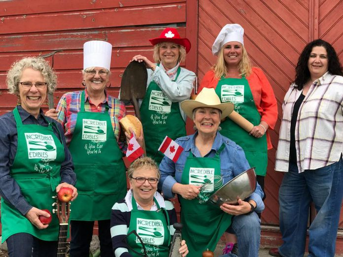 The organizers of Campbellford's Incredible Edibles Festival. This year's festival takes place on Saturday, July 8 from 10 a.m. to 4 p.m. (Photo: The Incredible Edibles Festival)