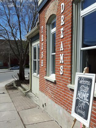 Fresh Dreams has reinvented itself at the former home of the Electric City Gardens, on Queen Street between Hunter and Simcoe in downtown Peterborough. (Photo: Fresh Dreams)