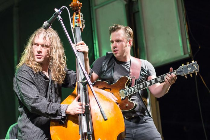 The Weber Brothers are performing on Saturday, June 3 at the Historic Red Dog Tavern in downtown Peterborough. (Photo: Linda McIlwain / kawarthaNOW)