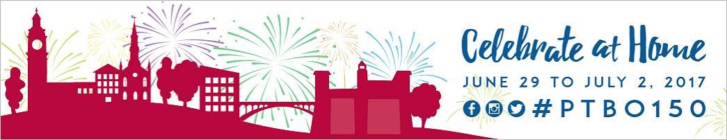 Peterborough 150 – Celebrate at Home #ptbo150
