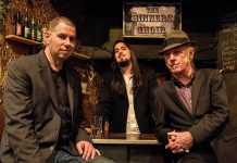 Toronto gritty Americana-roots trio The Sinners Choir (Terry Wilkins, Adam Beer-Colacino and Adam Warner) performs at The Ganny in Port Hope on Friday, June 10. (Photo: The Sinners Choir)