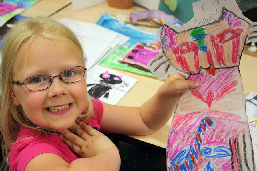 At the Art School of Peterborough, campers explore a new theme each week and experiment with painting, drawing, pottery, sculpting, and more. (Photo: Art School of Peterborough)