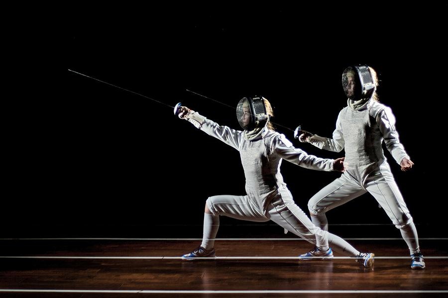 In this developmental camp at Peterborough Multi-Sport Club, campers will be challenged to acquire and consolidate skills in fencing, including technical, physical, and mental skills. (Photo: Hector Sarne / Peterborough Multi-Sport Club)