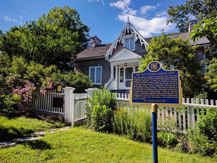 Hutchison House, located in downtown Peterborough, Ontario, is a living history museum offering a glimpse of life in Ontario in the 1800s. The limestone structure was built in 1837 for Dr. John Hutchison, the city's first resident physician, and his family. (Photo: Paula Kehoe)