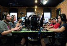 Gamers in action at Retro's eSports Bar in downtown Peterborough. (Photo: Retro's eSports / Facebook)