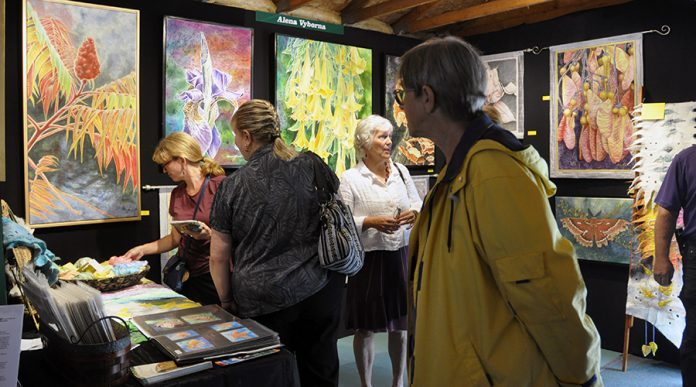 The festival is a professionally juried fine art show featuring a diverse selection of artwork including paintings, sculpture, photography, ceramics, jewelry, and wood turning. (Photo: Buckhorn Fine Art Festival)