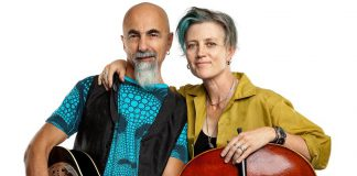 Exotic roots music duo Jennis (Dennis Gaumond and Jen Gillmor) are performing at The Spill in downtown Peterborough on Friday and at The Arlington Pub in Maynooth on Saturday. (Promotional photo)
