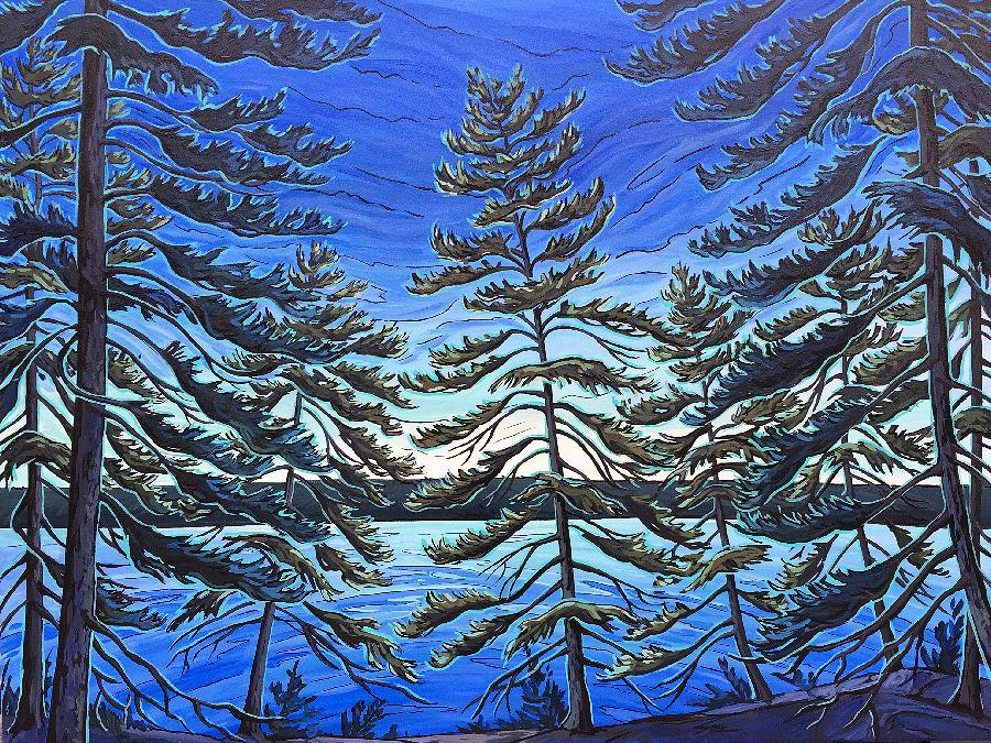 Gallery on the Lake features work by exclusively Canadian painters, including this piece by Jenny Kastner. (Photo: Gallery on the Lake)