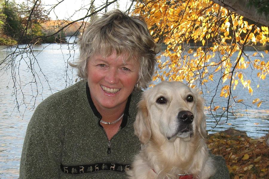 Real estate sales representative Lynn Woodcroft has lived in the Kawarthas for 20 years, and has boated the area for 32 years. (Photo: Lynn Woodcroft)