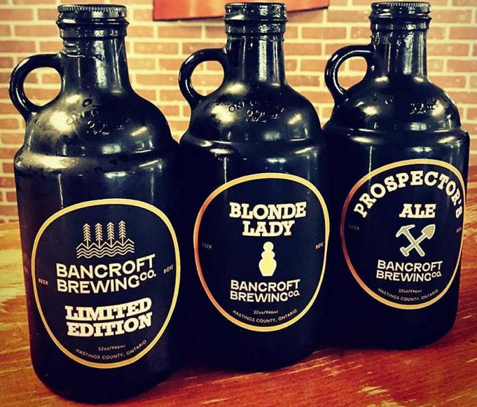 You can pick up a growler on your way to the lake at Bancroft Brewing Company. (Photo: Bancroft Brewing Company)