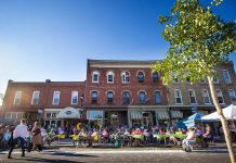 Millbrook Ladies' Night brings over 1,000 women to beautiful downtown Millbrook every summer. (Photo: Millbrook B.I.A.)