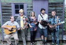 Pays d'en Haut (Jim Gleason, Curtis Dreidger, Leslie McGrath. Benj Rowland, and Matt Watson) bring Cajun music to downtown Peterborough with a performance at Catalina's on July 7. (Photo: Pays d'en Haut / Facebook)