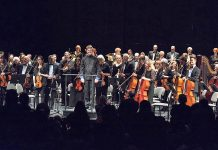 The Peterborough Symphony Orchestra, led by music director and conductor Michael Newnham, is performing Star Wars, Spies and More! at Peterborough Musicfest on July 15 at Del Crary Park. (Photo: Peterborough Symphony Orchestra)