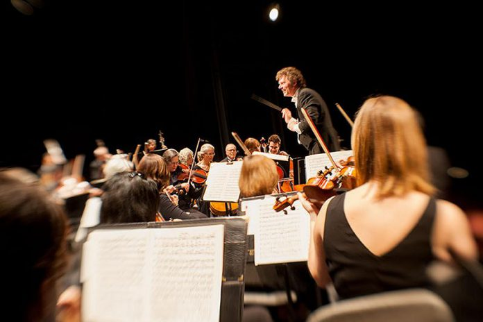 The Peterborough Symphony Orchestra will be performing music from the stage and screen including the opera Aida and films Up, Cinema Paradiso, Skyfall (featuring Barbara Monahan), The Lord of the Rings, and Star Wars. The orchestra will also present new Canadian music by Christine Donkin and featuring the indigenous singers from Unity. (Photo: Peterborough Symphony Orchestra)