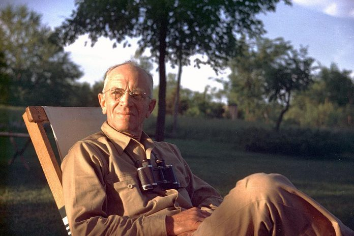 Author, philosopher, scientist, ecologist, forester, conservationist, and environmentalist Aldo Leopold (Photo: Aldo Leopold Foundation)