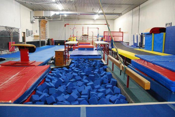 For 30 years, Champions Gymnastics has been giving kids the opportunity to experience a wide variety of gymnastics skills and basic fundamental movements such as swinging, landing safely, jumping and running. (Photo courtesy of Champions Gymnastics)