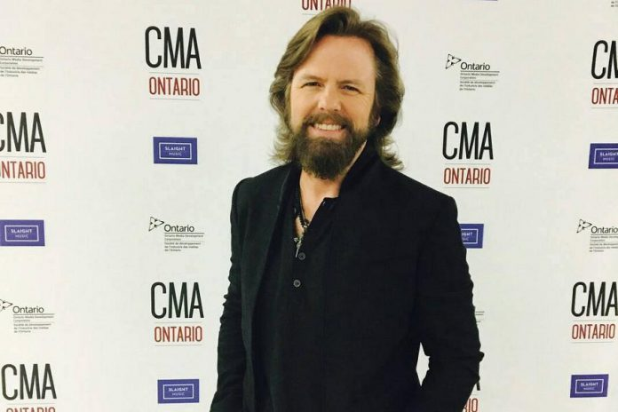 McCoy hosted the Country Music Association of Ontario Awards on June 11, 2017 in London. (Photo: Country Music Association of Ontario)