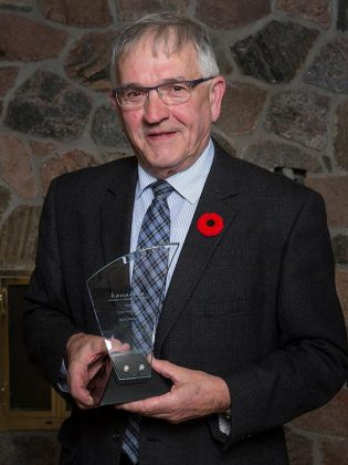 2016 Citizen of the Year Recipient Karl Moher.