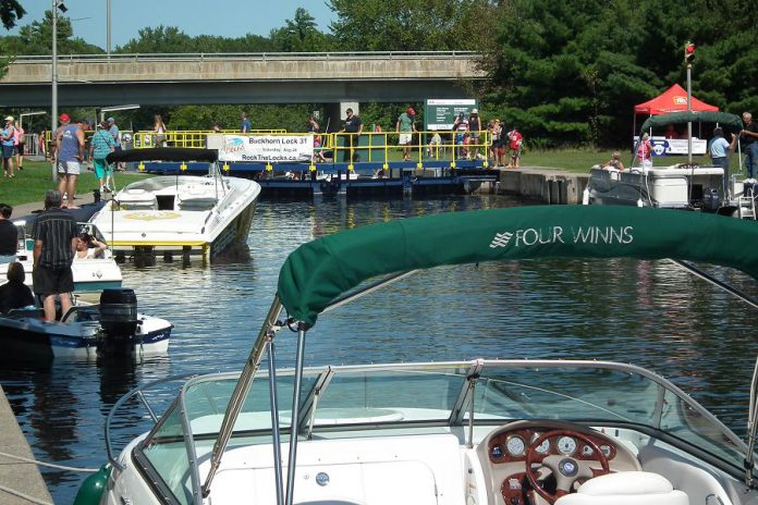 Enjoy free pontoon boat rides and much more at the annual Rock the Locks in Buckhorn on August 26. (Photo: Rock the Locks)
