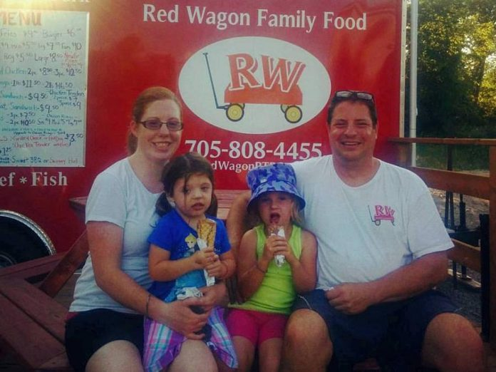 Red Wagon Chip Truck is named after Carolyn and Steve Effer's daughters' red wagon. (Photo: Anthony Trinidad)