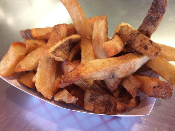 The Cabin serves fresh-cut fries from Trent and Beavermead locations. (Photo: Eva Fisher)