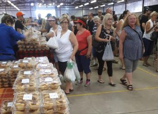 There were butter tarts galore at the 5th annual Kawarthas Northumberland Butter Tart Taste-Off, held on Saturday, September 23, 2017 at the Peterborough Farmers' Market in the Morrow Building. (Photo: Butter Tart Tour)