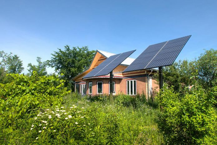 "Located on Trent University's 200-acre wildlife sanctuary lands, the Environment Education Centre (2505 Pioneer Road, Peterborough) has earned its moniker as ""one of Canada's most sustainable buildings.""  (Photo: Camp Kawartha)"