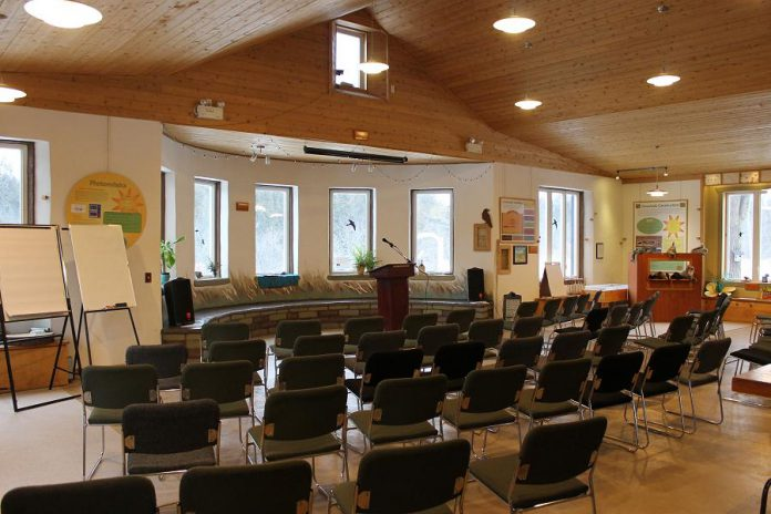 Need an inspirational and private setting to host your next meeting, workshop, or special event? The camp's Pioneer Road location can accommodate up to 65 people and is available for daytime or evening rentals.  (Photo: Camp Kawartha)