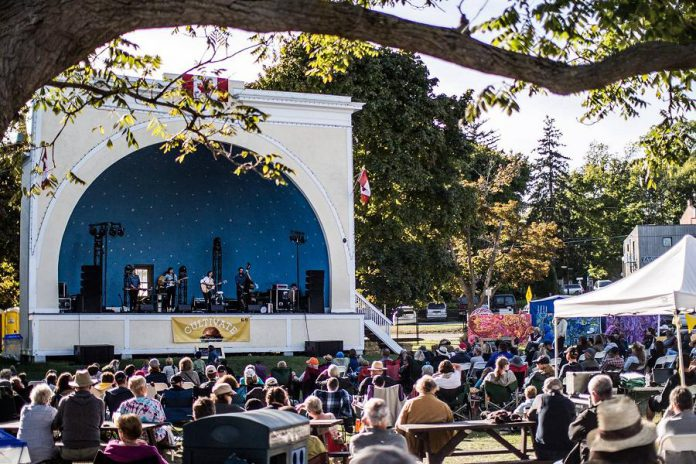 Live music all weekend on two stages at Memorial Park featuring both local bands like Gentleman Husbands, The Kents, and Mayhemingways and visiting performers like Said The Whale, Fred Penner, Terra Lightfoot, Zachary Lucky, Evening Hymns, Digging Roots, and many more. (Photo: Cultivate / Facebook)