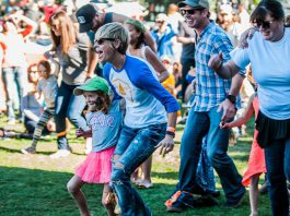 The family-friendly Cultivate festival takes place September 22 to 24 at Memorial Park in downtown Port Hope, and features food and drink, live music, kids activities, education seminoars, an artisan marketplace, art, and more. (Photo: Cultivate / Facebook)