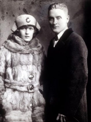 Zelda and F. Scott Fitzgerald in 1922, when they were living in a rented house in New York. The monthly rent was $300, or $4,200 in 2017 dollars. (Everett Collection)