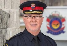 Chief John Hagarty of the City of Kawartha Lakes Police Service (Photo: City of Kawartha Lakes Police Service)
