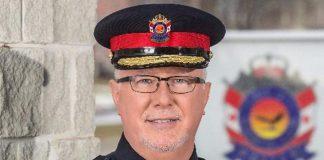 Chief John Hagarty of the City of Kawartha Lakes Police Service (Photo: City of Kawartha Lakes Police Service)