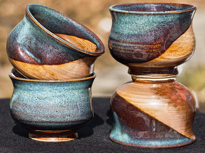 Potter Judy Sparkes, whose studio is located on Chandos Lake, is one of the artists featured in this year's Apsely Autumn Studio Tour. (Photo courtesy of Apsley Autumn Studio Tour)