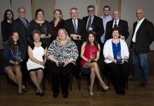The recipients of the 2016 Kawartha Chamber of Commerce & Tourism's Awards of Excellence Awards. Nominations for this year's awards, to be presented in November, close on Monday, September 11th.