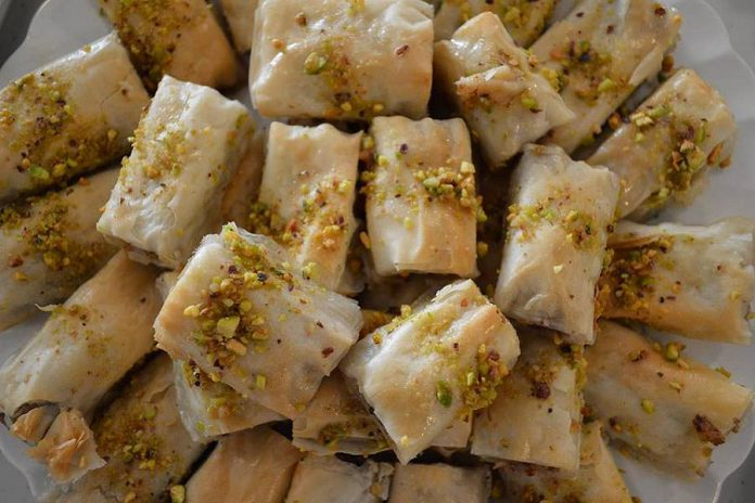 If you dropped by Peterborough Vegfest on September 17th at Millenium Park, you had a chance to sample the Newcomer Kitchen's Baklaweh. (Photo: Newcomer Kitchen)