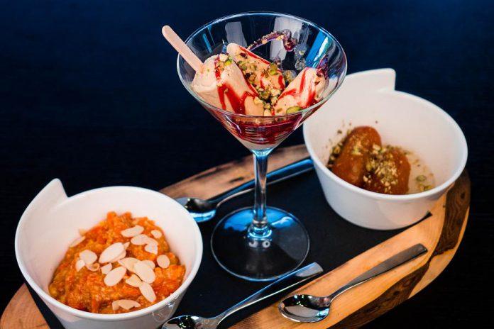 The Imperial Tandoor menu includes a tempting dessert platter. (Photo: The Imperial Tandoor)