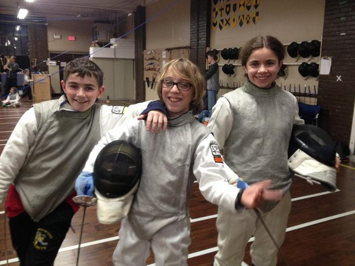 Starting this month, Peterborough Multi-Sport Club is offering an after-school athletic program for kids in Grade 1 to Grade 8 in fencing, longsword, jiu jitsu, archery, and circus arts to help them improve their fitness and connect them with sports they might not otherwise get a chance to try. (Photo: Peterborough Multi-Sport Club)