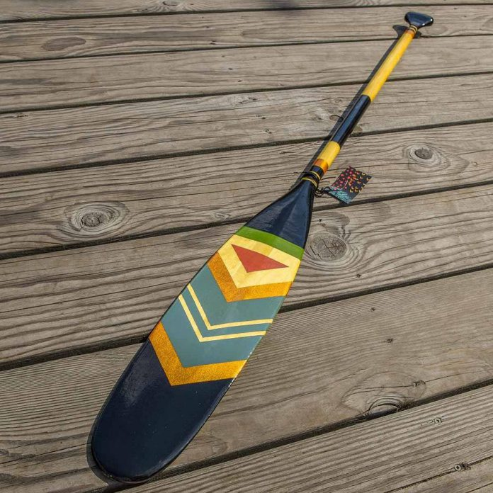 A paddle by Jen Morgan Anderson. (Photo: Algonquin Outfitters)