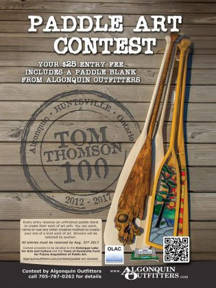 Algonquin Outfitters held the contest over the past year, to celebrate the company's 55th anniversary, the 150th anniversary of Canada, and the 100th anniversary of artist Tom Thomson's death in Algonquin Park. (Graphic: Algonquin Outfitters)