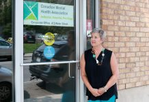 Kerri Davies of the Canadian Mental Health Association Haliburton, Kawartha, Pine Ridge, is responsible for fund development through community engagement, education, health promotion, marketing, and public relations. (Photo: Peterborough Chamber of Commerce)