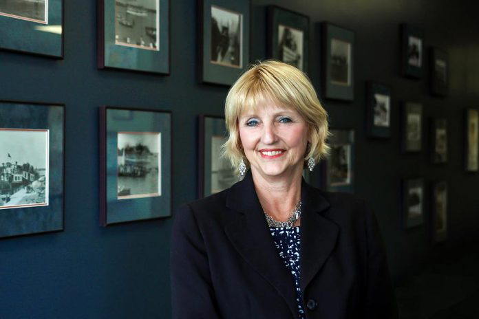 Betty Johnson has built a reputation in the real estate industry for her honest and hard-working professionalism. Her focus is on people, and she likes to match a buyer with the perfect house, not the most expensive one. (Photo: Samantha Moss / MossWorks)
